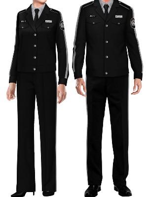 6款黑色保安服