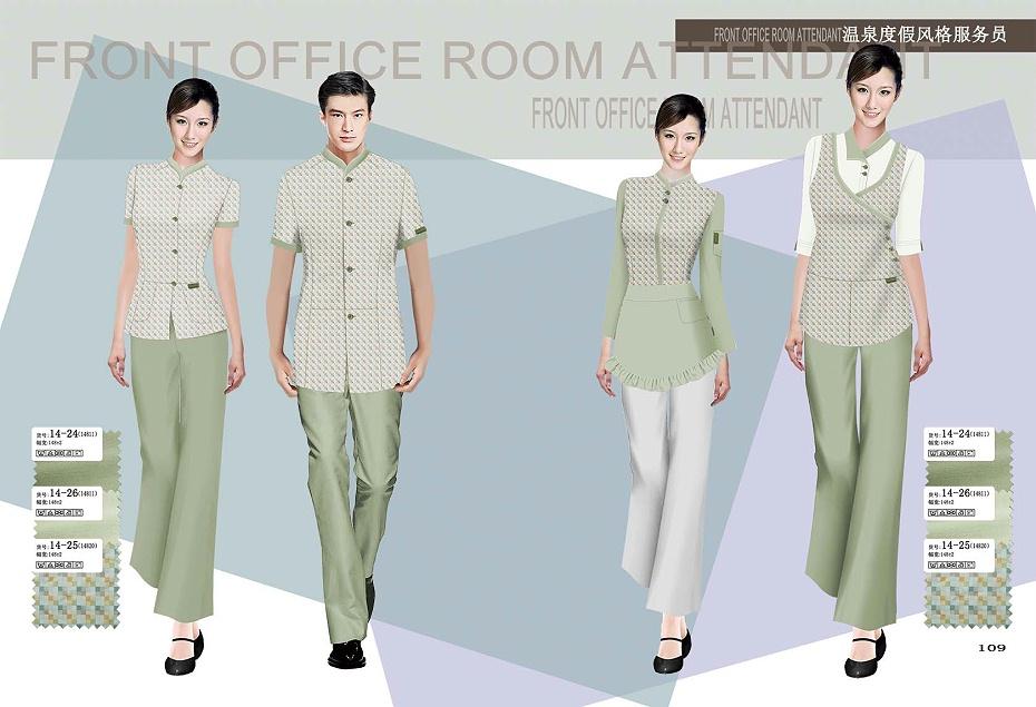 5款医院保洁服|物业保洁服装 夏季女装