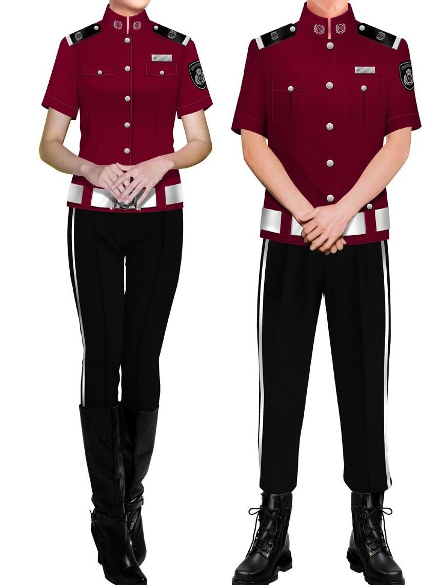 4款夏季短袖新式保安制服