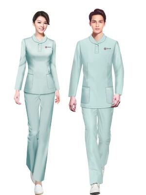 中医理疗养生馆理疗师服装定做整体解决方案