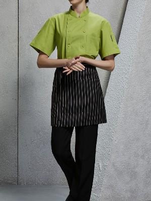 厨师服 夏季短袖工作服