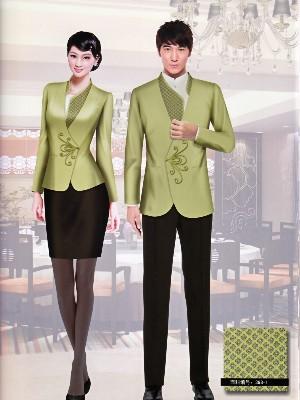 中式复古民国风主管酒店工作服