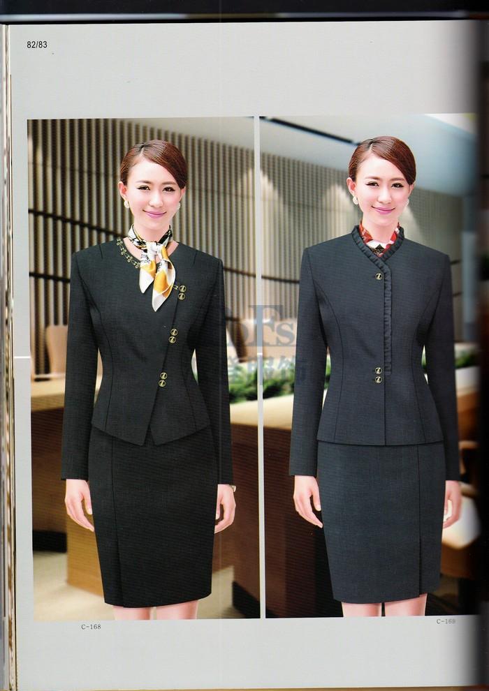 酒店工作服装款式图片大全
