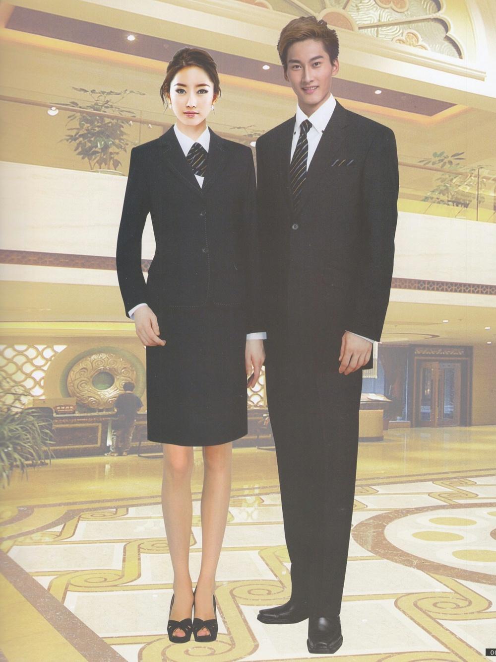 职业套装酒店工作服