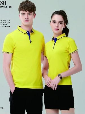 4款好看的环保文化衫|翻领文化衫定制