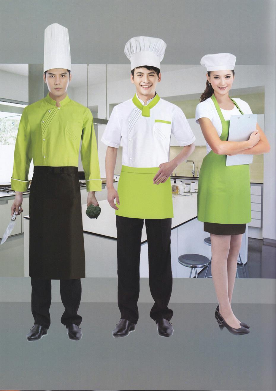 西点厨师服糕点店中西餐厅服装男女短袖款 夏装批发