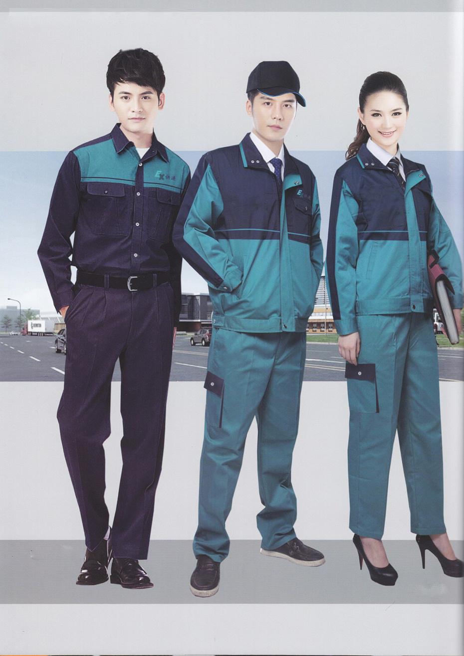 3款家用电器厂生产车间工作服|长袖冬季工作服
