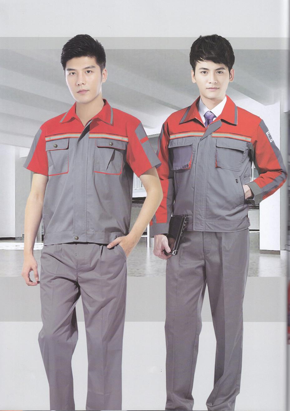 6款夏季装配铸造车间工作服|电焊工车间长短袖工