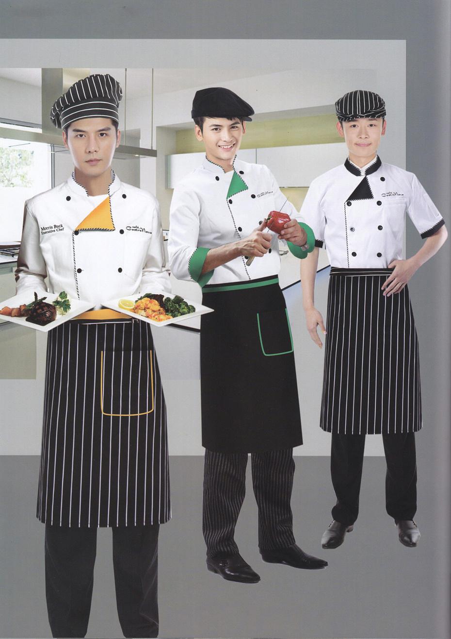 厨师工作服(定做厨师长工作服最新款式图片)