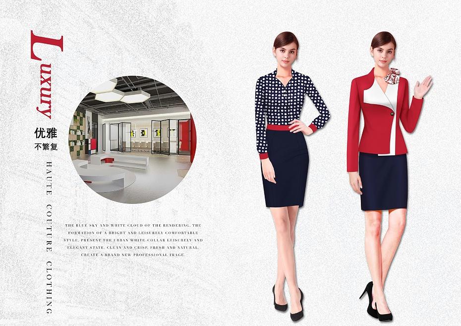 都市时尚春夏职业装设计图58345