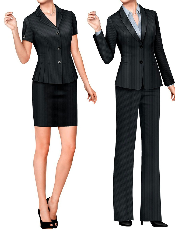 3款幼儿老师工作服装|教师职业套装