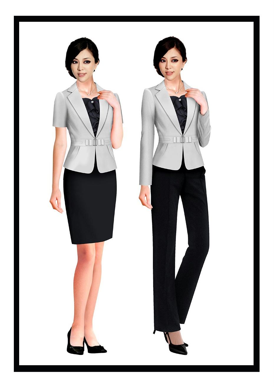 4款教师夏季职业装超短裙