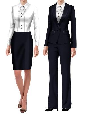 教师面试服装  女老师公招面试服装3款
