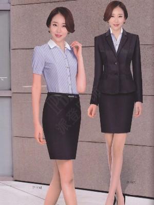 职业连衣裙工装酒店前台工作服