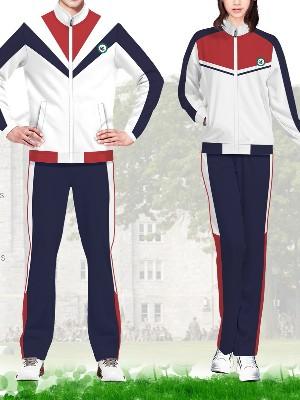 2款高中大学校服款式