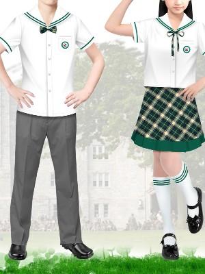 2款小学生夏天校服 小学的校服夏季