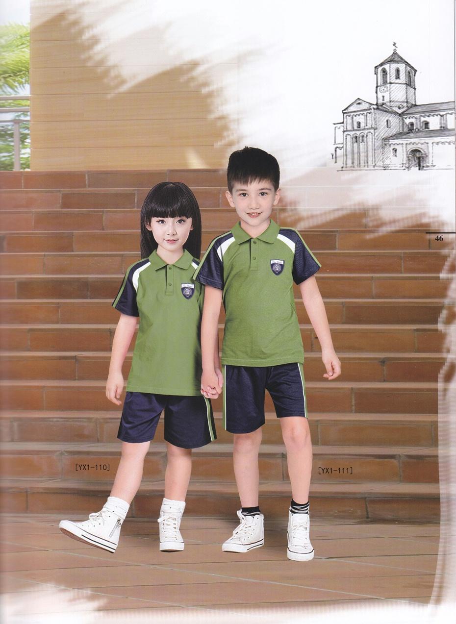 4款幼儿园英伦校服