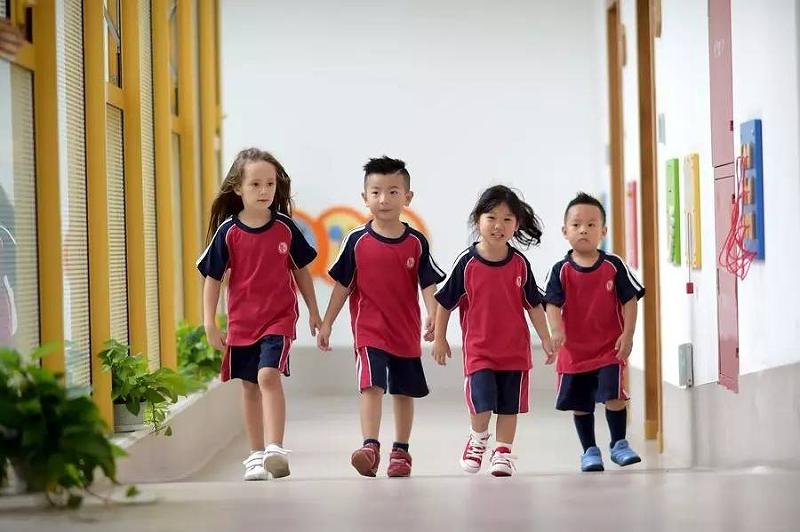 幼儿园校服尺码对照表