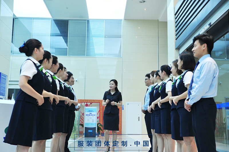 银行工作人员服装