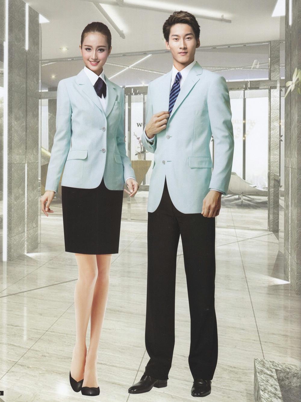 职业高级领班经理秘书西服套装制服