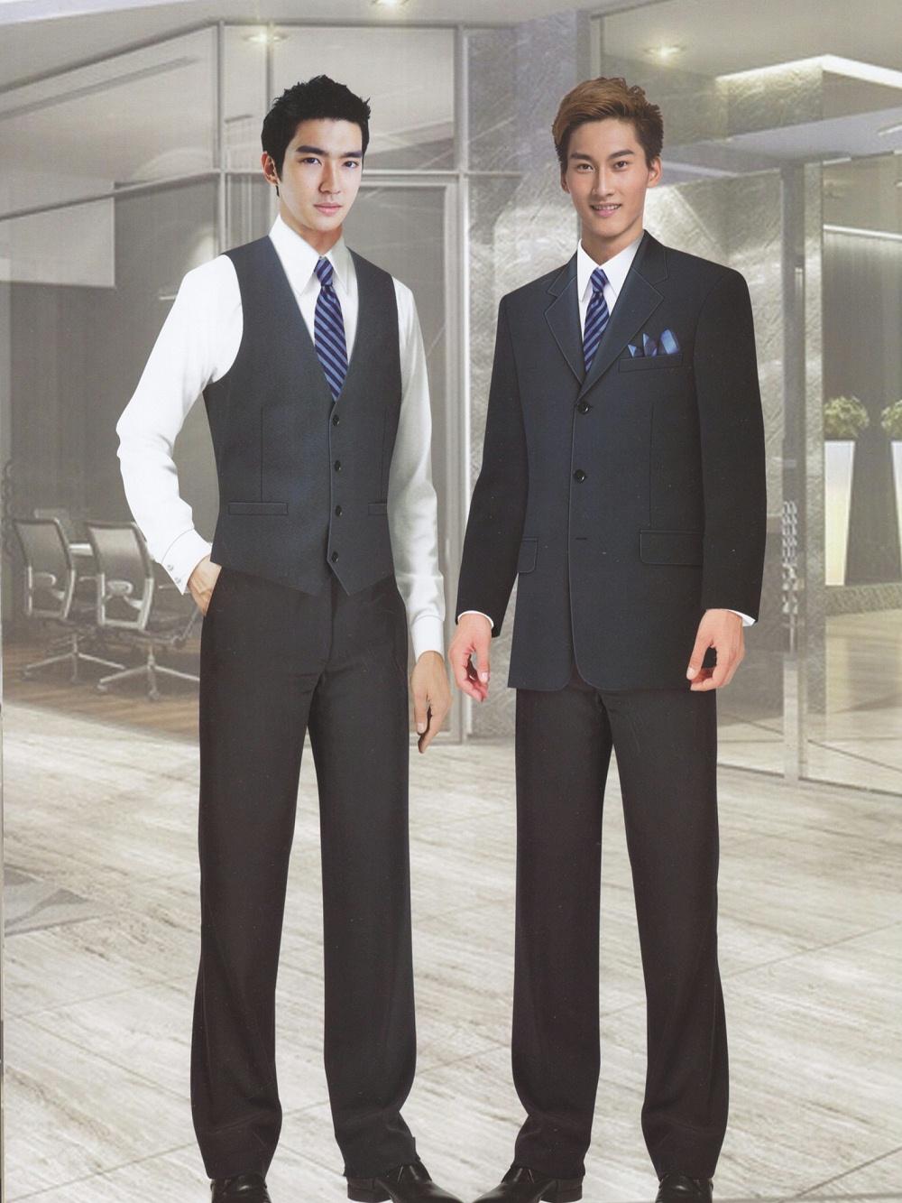 商务型西装工作服