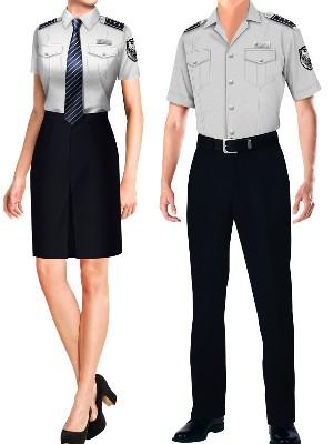 2款夏季保安制服短袖|物业保安套装制服工作服