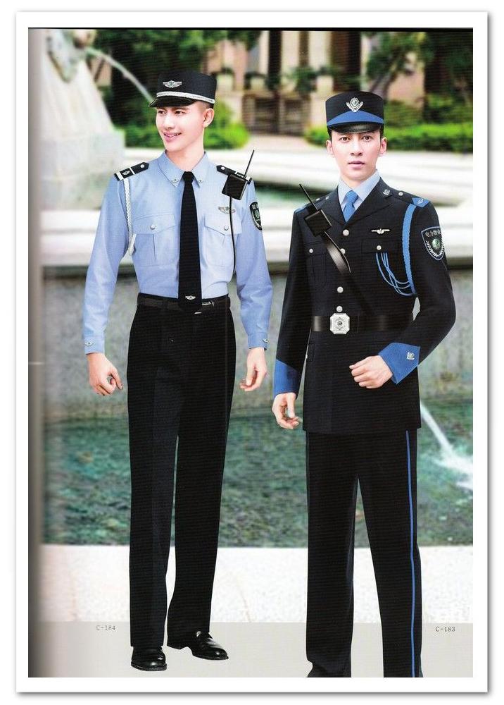 安保服装/春夏秋冬季新式保安制服