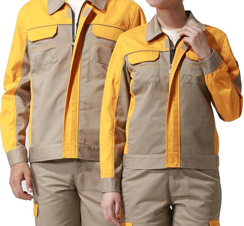 砖瓦厂工作服(砖瓦厂劳保服定做款式图片/免费设计)