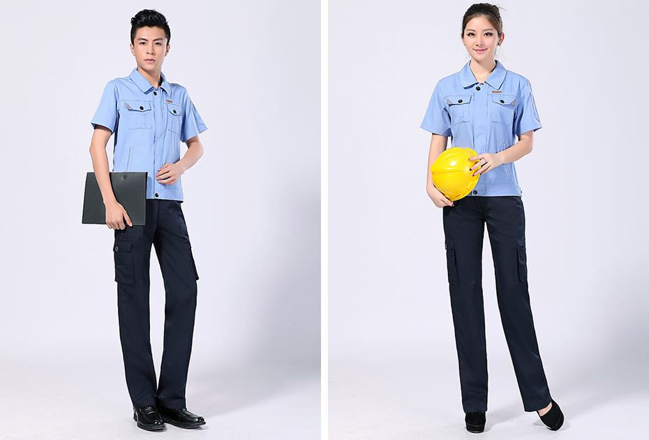 生产制造企业工作服C01