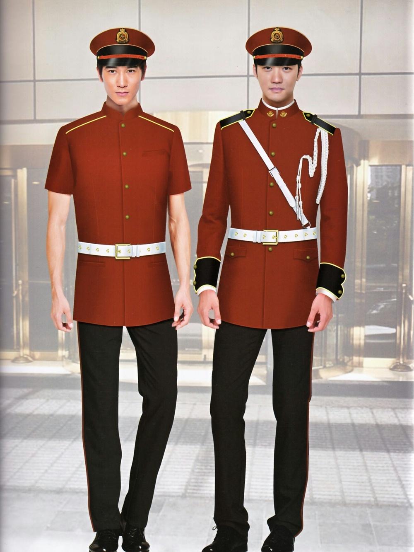 酒店茶楼中式制服套装